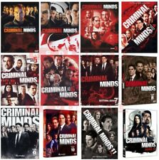 CRIMINAL MINDS - STAGIONI DA 1 A 12 - 66 DVD - COFANETTI SINGOLI, NUOVI