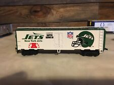 1991 HO SCALE MANTUA 1st Edition SUPER BOWL EXPRESS New York Jets Train Car