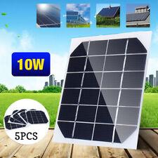 5pcs 10W 6V Mini Solar Panel Cell Module For Solar Power Energy DIY Home Project