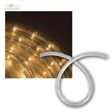 LED Lichtschlauch warmweiß IP44 230V, 10m 25m 44m, Innen & Außen Lichterschlauch