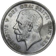 More details for 1928 wreath crown - george v british silver coin - v nice
