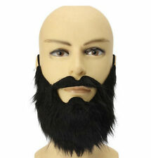 Fun Beard Moustache Costume Fancy Party Halloween Mustache Disguise Facial Hair