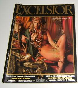 EXCELSIOR GIUGNO 1987 n° 17 (GIULIANA DE SIO)