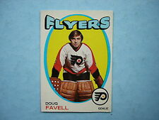 1971/72 O-PEE-CHEE NHL HOCKEY CARD #72 DOUG FAVELL EX/NM SHARP!! 71/72 OPC
