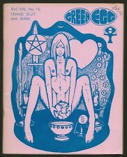 Green Egg #76 (Oimelc, Feb 1976) Church of All Worlds, Neo-Paganism, Tim Zell ed