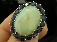 Ring Opal Yellow Gold Vintage & Antique Jewellery