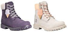 Timberland женские мороженое коллекция водонепроницаемый премиум ботинки фиолетовый серый