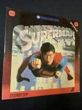 Superman The Movie Laserdisc Christopher Reeve Good Condition