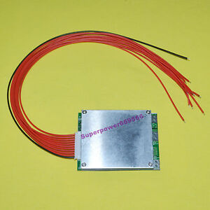 10S 20A BMS PCB PCM for 36V Li-ion lipolymer Battery Same Charge/Discharge port