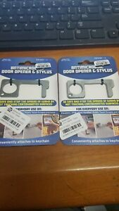Antimicrobial Door Opener & Stylus- set of (2) protect from virus-