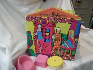 1967 VintageThe world of Barbie House - no roof,