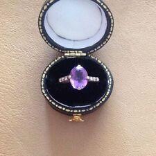 18 Carat Amethyst Victorian (1837 - 1901) Fine Rings