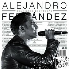 Alejandro Fernandez CD + DVD NEW Rompiendo  Fronteras **NUEVO** NOW SHIPPING !