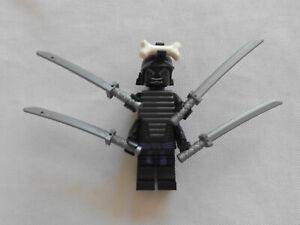 Lego Ninjago Minifigur  Lord Garmadon 4 Arme mit Schwerter Neu und OVP