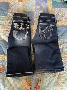 Girls Cowgirl Jeans. Q Baby & Pure Western