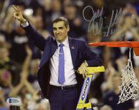 JAY WRIGHT SIGNED 8x10 PHOTO + 2 x NCAA CHAMP VILLANOVA BASKETBALL BECKETT BAS