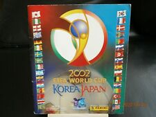 Panini Fifa WM 2002 Japan Korea Album Komplett mit den seltenen Iren * RAR * TOP