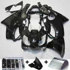 USA Fit for Honda 2001-2003 CBR600 F4I Black Injection Fairing Plastic Bodywork