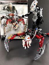LEGO Bionicle 8764 Vezon & Fenrakk With Box       Missing Instructions