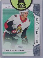 Erik Brannstrom 2019-20 Artifacts Rookie 792/999 Ottawa Senators