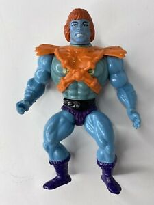 MOTU He-Man Masters of the Universe 1981 Malaysia FAKER with sticker