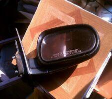 90-93 Honda Accord Sedan Right Side Mirror +Black 1990-1993 Oem