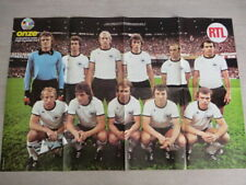 POSTER football allemagne rfa coupe monde 1978 george best Los angeles Aztecs