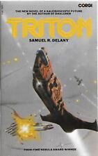 Samuel R Delany / Triton Signed 1st Edition 1977