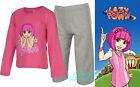 BNWT Official LAZYTOWN-Stephanie Girls Pyjamas 1-6yr Long Sleeve/Leg PJs Xmas