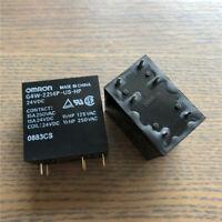G4W-2214P-US-HP 24VDC High Capacity Power Relay 15A 250VAC 6 Pins x 1pc