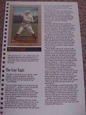 Tris Speaker 1988 Baseball Card Engagement Book w/ 1911 Turkey Red Cabinet Card