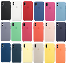 Genuine OEM Silikon Schutzhülle case Apple iPhone X XR XS MAX silicone Hülle