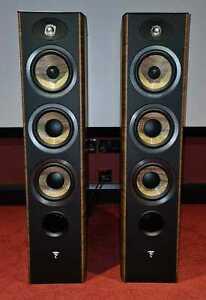 FOCAL Aria 926 - Floor Standing Speakers - Black/Walnut - CTI - NIN-1358