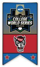 2021 NCAA College World Série Broche Nc État Look Pour Program & Patch En