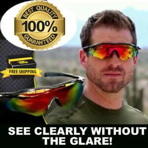 Military Style Sunglasses Tac Vision Sunglasses Glasses  Glare As Seen on TV
