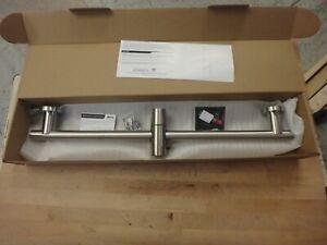 KES Shower Riser Rail Stainless Steel Slide Bar Brushed Stainless F204DG-BS