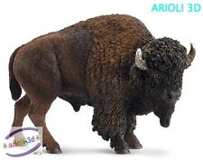 AMERICAN BISON SCHLEICH 14714 ANIMAL FIGURINE 4' X 3' NEW