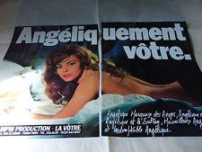 MICHELE MERCIER - Publicité de magazine / Advert !!! ANGELIQUEMENT VOTRE !!!