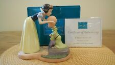 """WDCC Snow White & Dopey  """"A Sweet Send-Off""""  70th Anniversary Edition"""