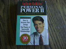 ANTHONY ROBBINS OERSONAL POWER ll (NIP) CASSETTE VOL 9 INCREASE YOUR ENERGY