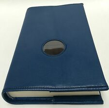 AA Big Book Blue Leather Book Cover with Chip Holder