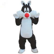 Sylvester the Cat Mascot Costume Halloween Party Fancy Dress Adult Size Outfit