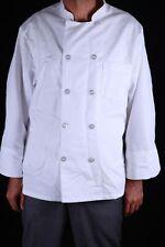 PiecesUnisex Knot Button Chef Coat White 44 Rg Chef Design