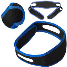 Snore Stop Belt Anti Snoring Cpap Chin Strap Sleep Apnea Jaw Solution Unique