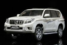 Diecast Car Model Toyota Land Cruiser Prado 1:18 (White) + GIFT!!