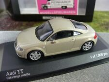 1/43 Minichamps Audi TT Coupe beige metallic