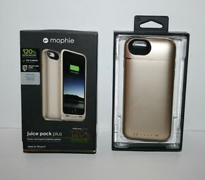 Mophie Juice Pack Plus Gold Battery Charge Case for iPhone 6