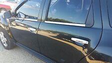 Fensterleisten R+L 4tlg EDELSTAHL passend für Dacia Duster ab 2010 > 2018