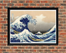 The Great Wave Off Kanagawa  (A4 Japanese Art Print)