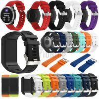 Silicone Watch Band Strap For Garmin Vivoactive 3 HR Vivomove HR Forerunner 645
